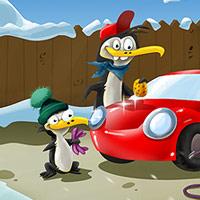 Bezpečnost na cestách - Ilustrace pro dětský web