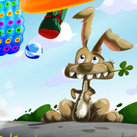 Brzdná dráha - ilustrace pro dětskou aplikaci