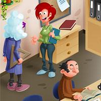 Dopravní výchova interaktivně - ilustrace pro dětskou aplikaci
