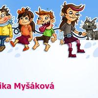 Kreslené postavičky pro web