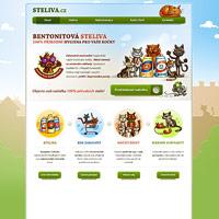 Ilustrace pro webové stránky Steliva.cz