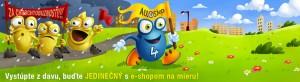 Propagační banner firmy All4shop.sk