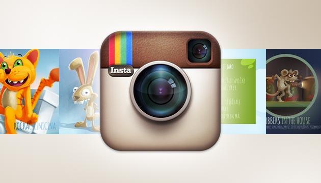 Sledujte mě na Instagramu