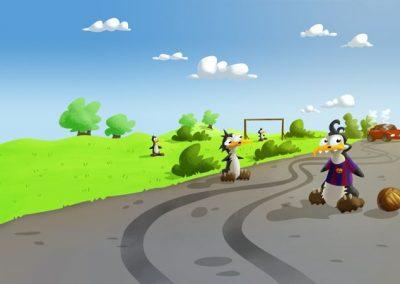Bezpečné cesty - brzdná dráha