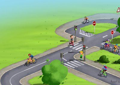 DVI - ilustrace dětské hřiště