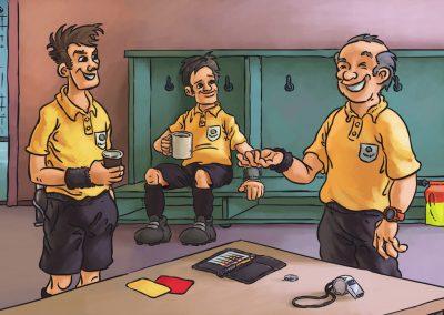 Fotbalová angličtina a němčina - rozhodčí