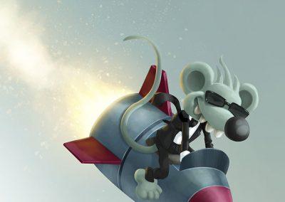 Detail ilustrace - Mikeš Premium