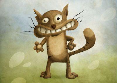 Kocour - ilustrace pro děti