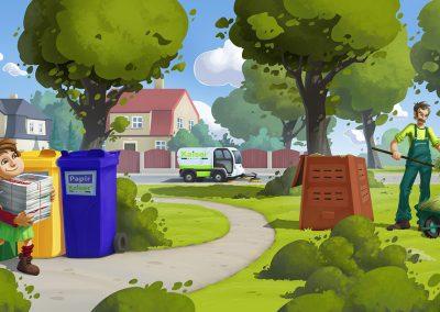 Kaiser Servis - brožurka pro třídění odpadů