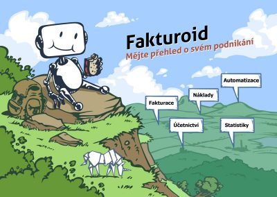Fakturoid - návrh letáku