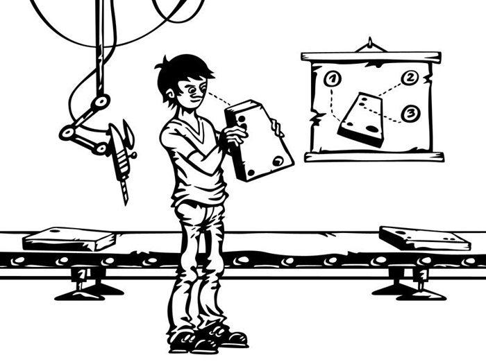 Ukázková ilustrace návodu